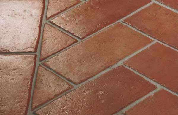 Cotto fatto a mano: pavimento in cotto classico rettangolare 15x30