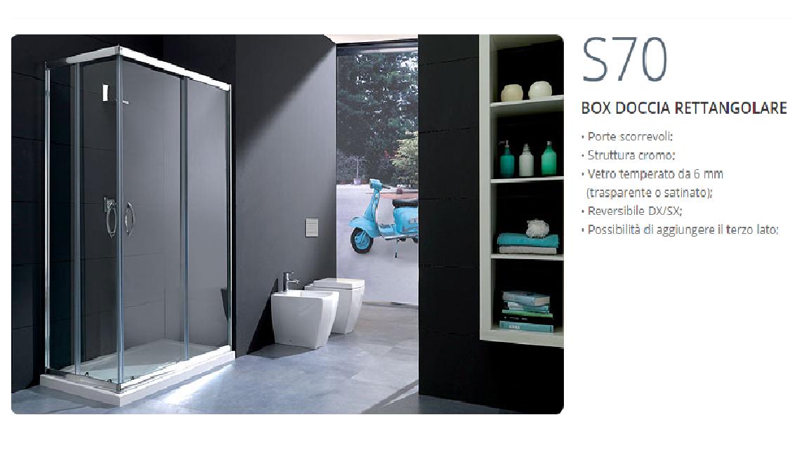 Cabine Doccia Rettangolari : Box doccia rettangolari eleganza minimale per il bagno cose di casa