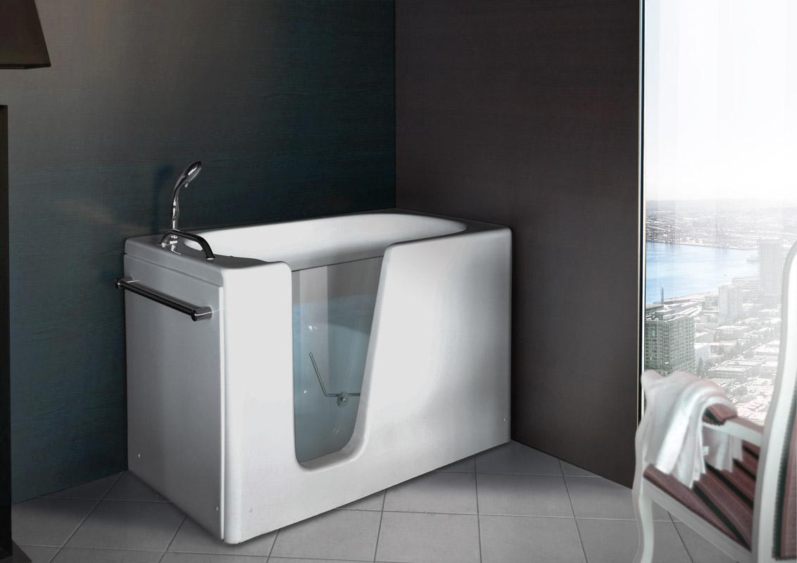 Vasca Da Bagno Con Pannelli Prezzi : Vasche rettangolari vasca disabili ideale cm