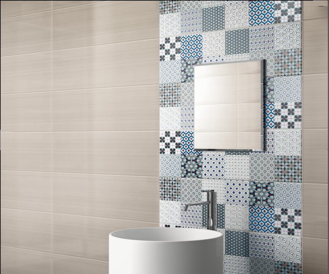 Rivestimenti da bagno: linear grigio 25x75