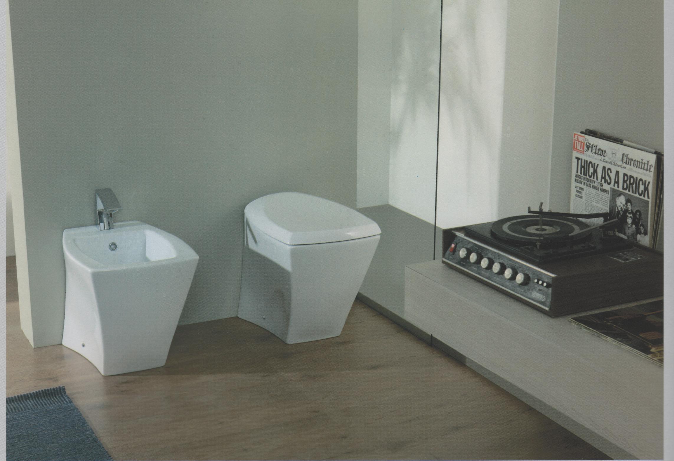 Sanitari da bagno sanitari vaso selinon filo muro traslato