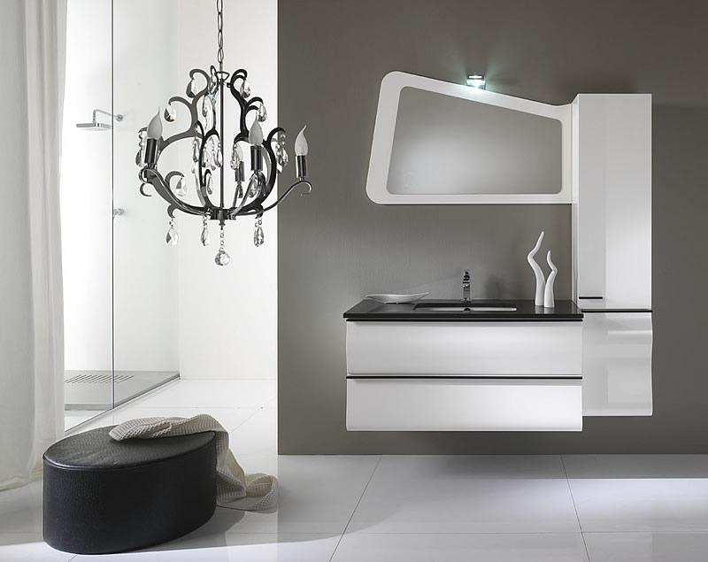 Mobili da bagno moderni mobile bagno gliss bianco il ducato