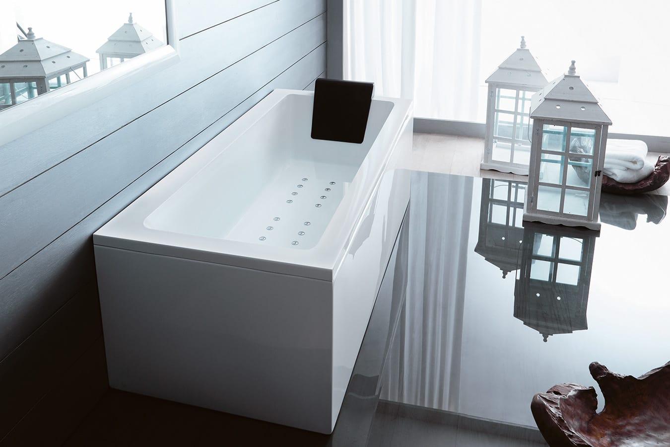 Vasca Da Bagno Incasso 150x70 : Vasca da bagno da incasso in acrilico linares mat velvet