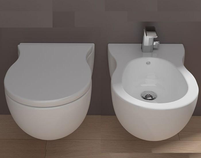 Sanitari da bagno sanitari bidet sospeso pinch goclean